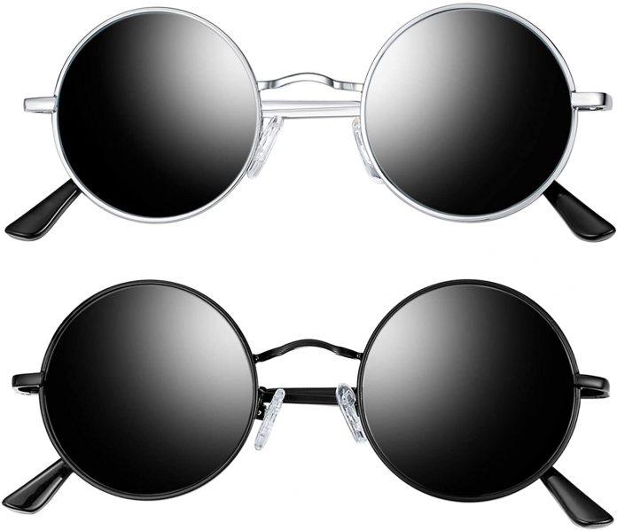 Polarized Round Sunglasses