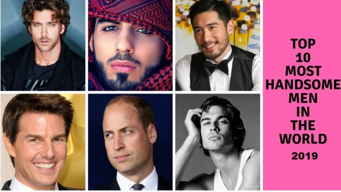 Top 10 Most Handsome Faces In The World 2019