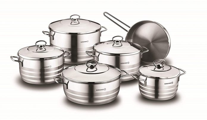 Stainless Cookware Sets for cooking Healthy Meals