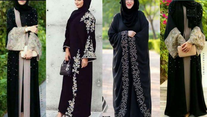 Dubai Black Abaya