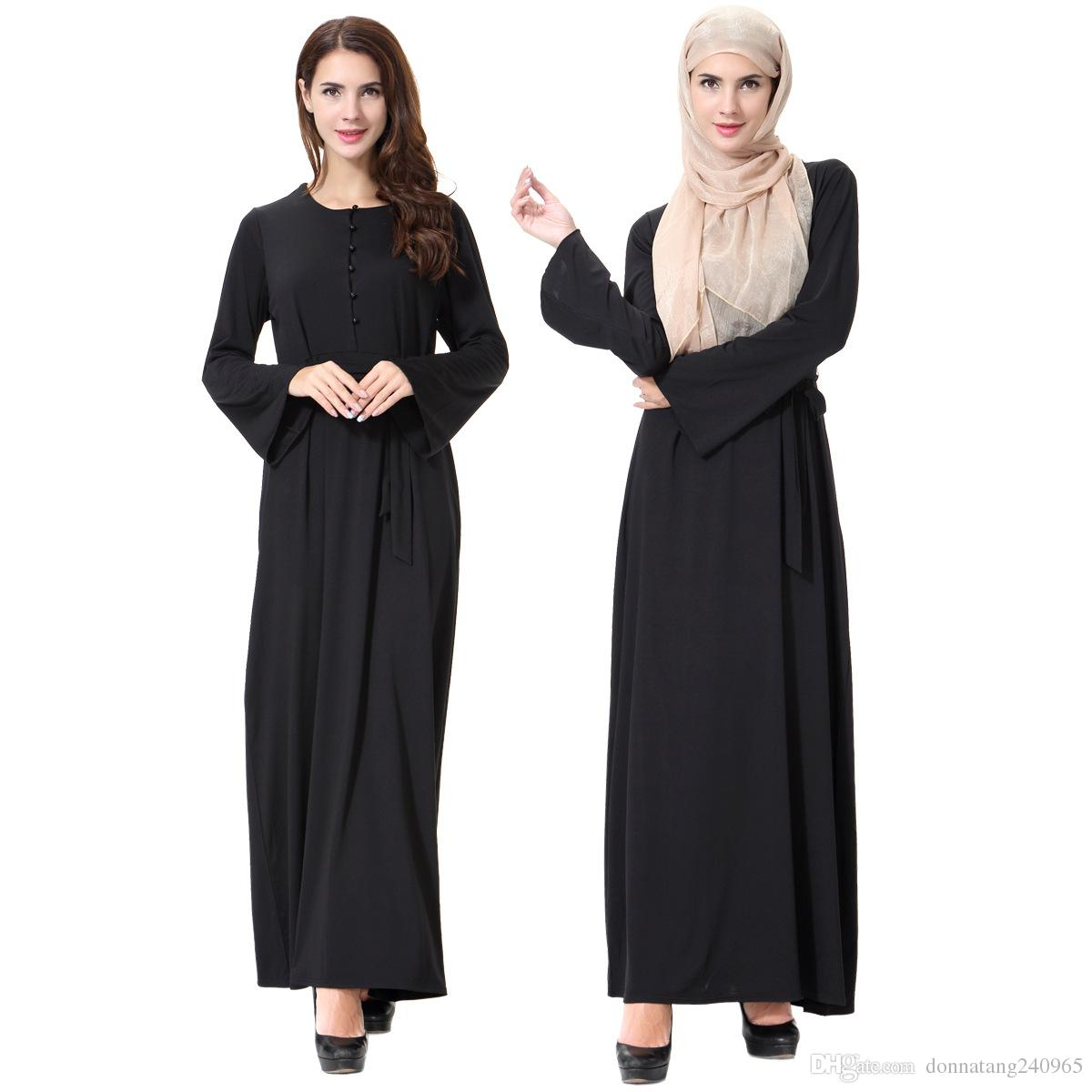 buy black colour abaya online