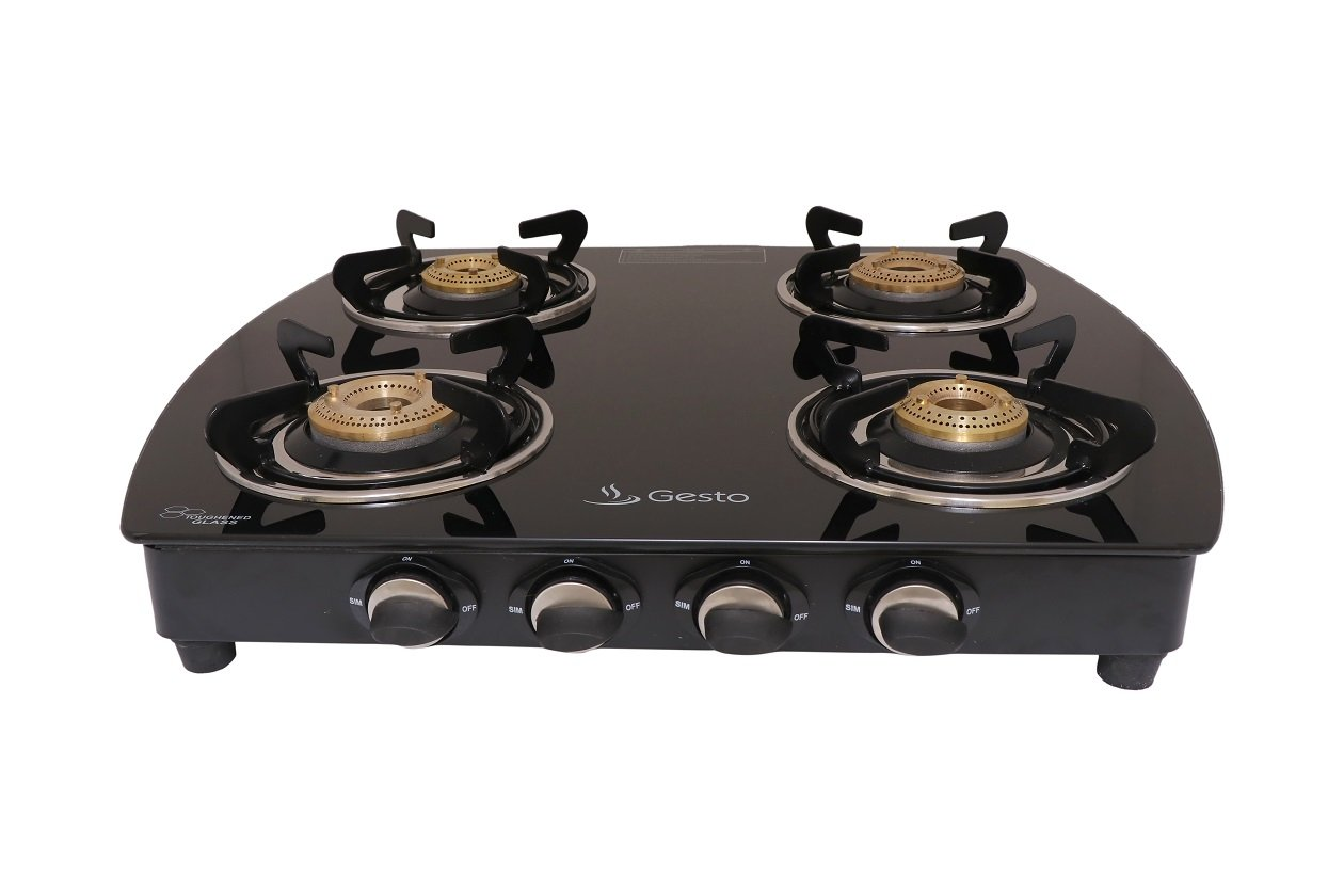Gesto 4 Burner Vista Gas Stove