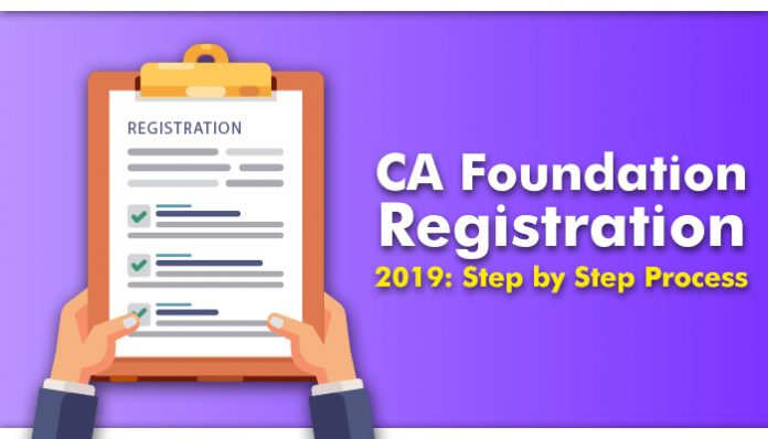 CA Foundation Registration 2019