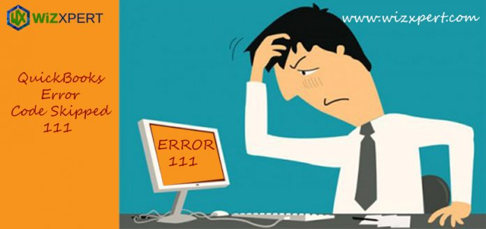 QuickBooks Error code 111