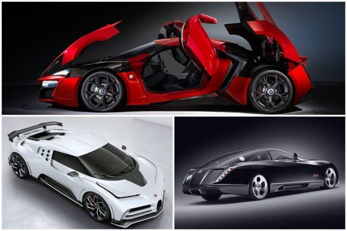 Expensive Sports Cars In The World