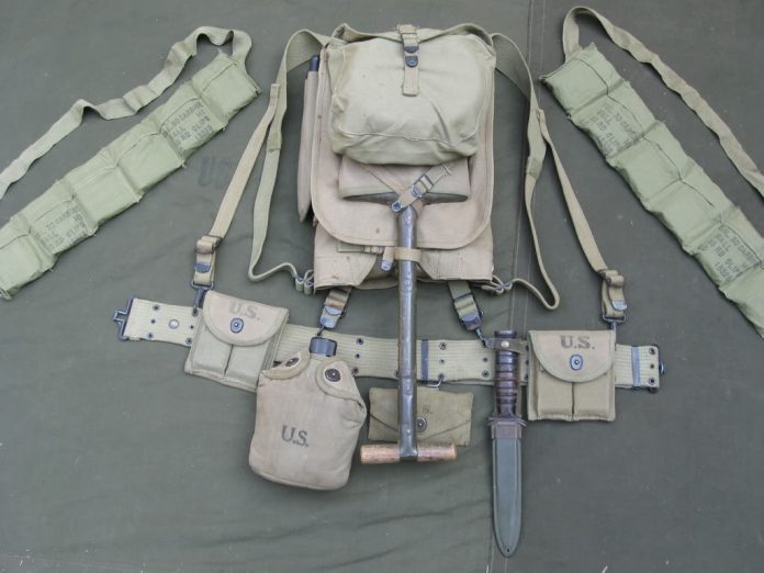 WW2 US Field Gear