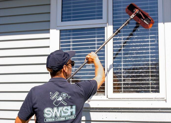 window cleaners Tauranga