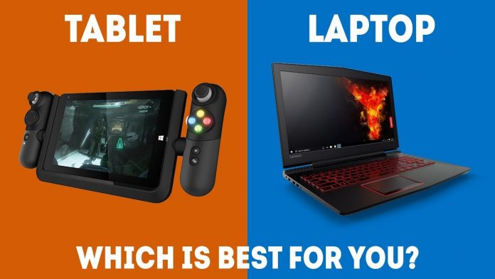 Laptop vs tablet