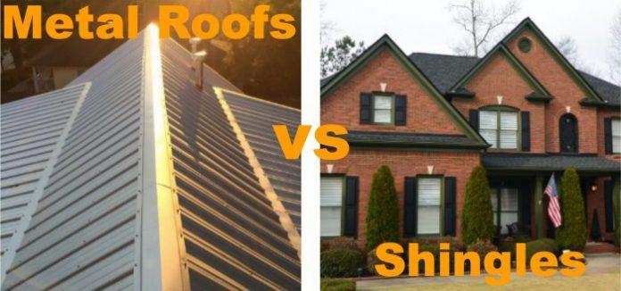 Metal Roofing vs Shingle Roofing