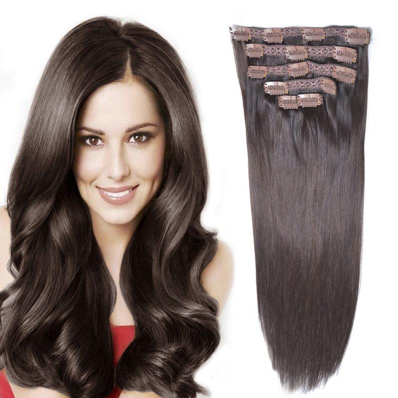 Clip hair extension
