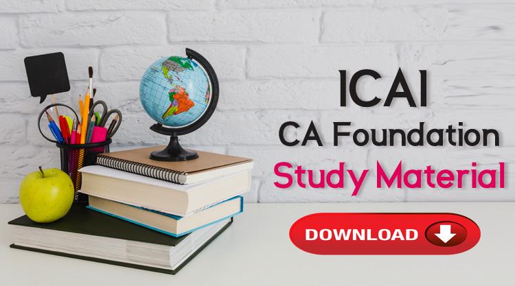 CA Foundation Study Material