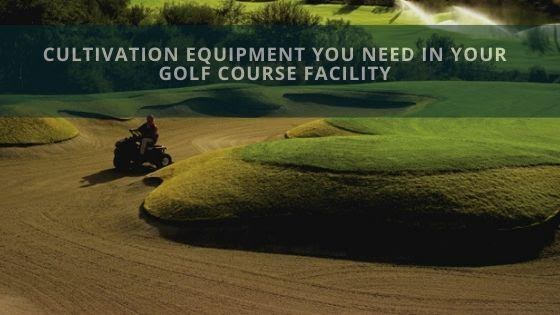 golf course equipment