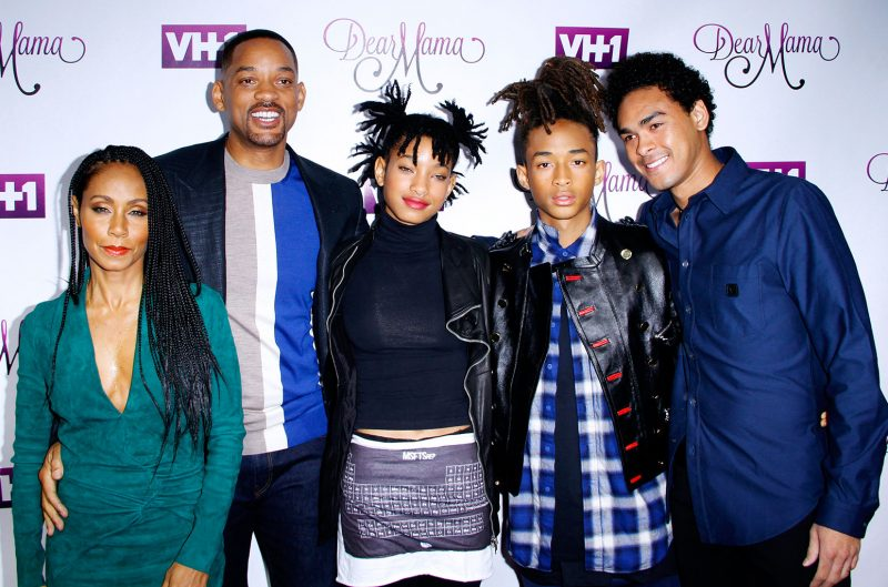 American Actor Will Smith's Wife and family