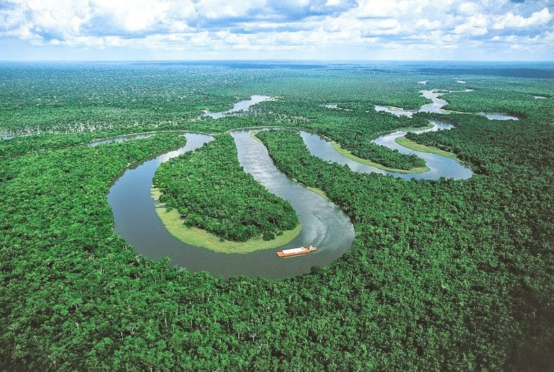 Amazon River of Brazil