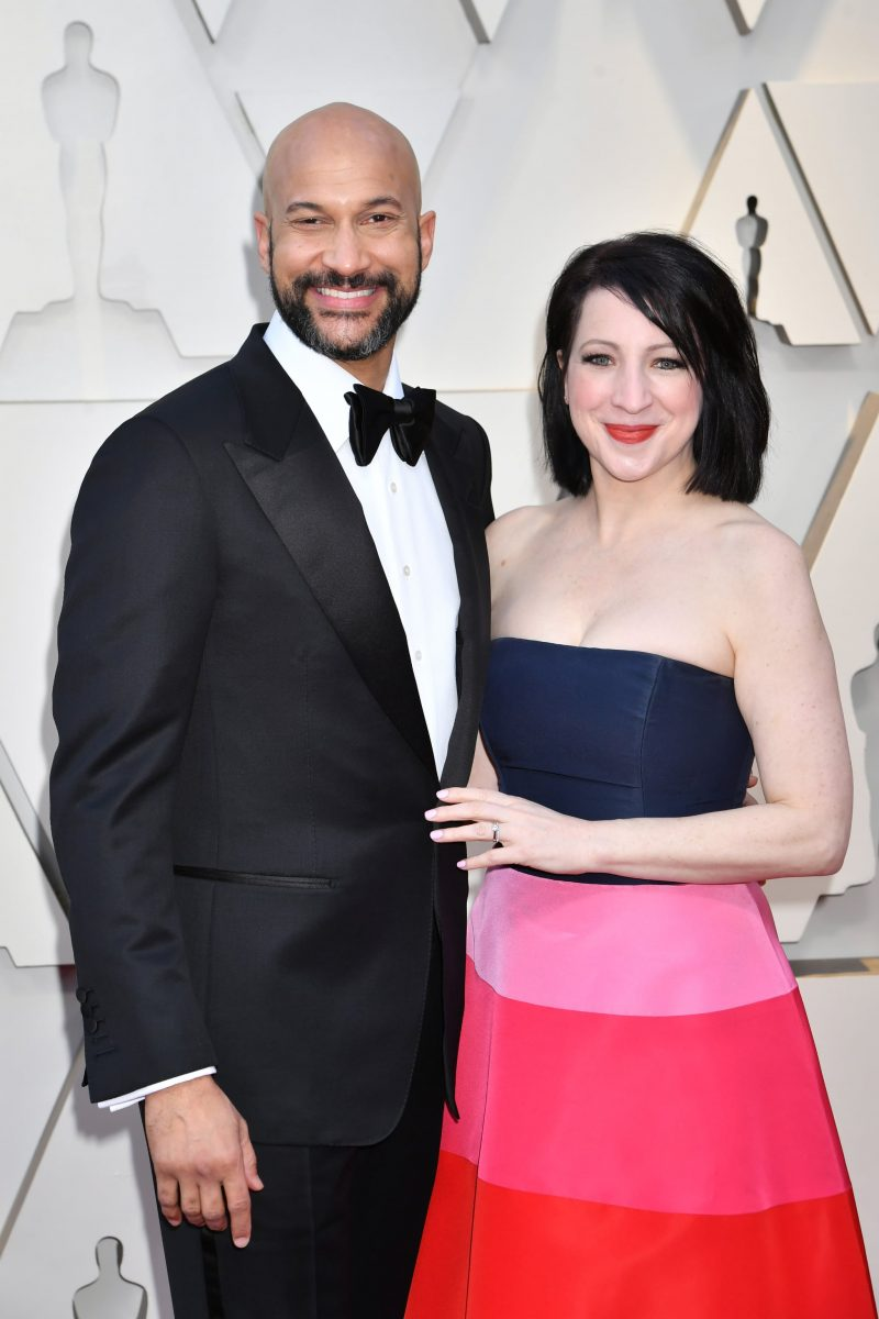 keegan-michael key wife Elisa Pugliese