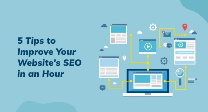 5 Tips to Improve Your Website's SEO in an Hour