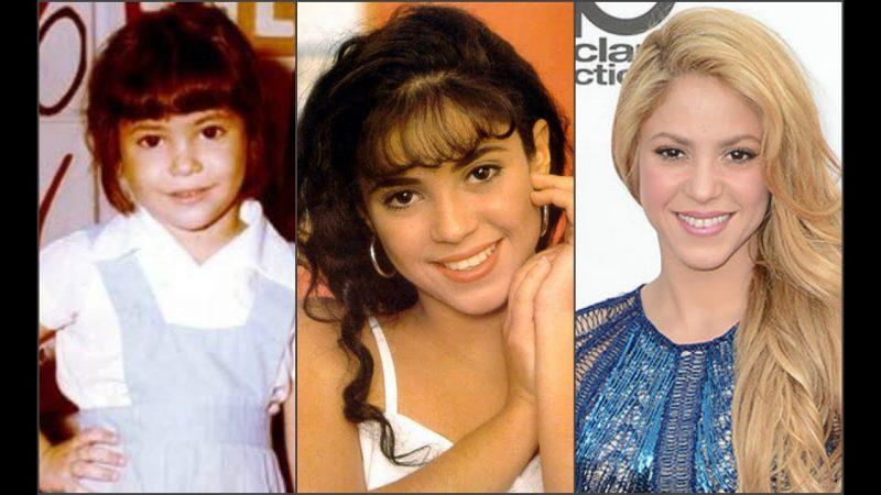 Childhood of Shakira