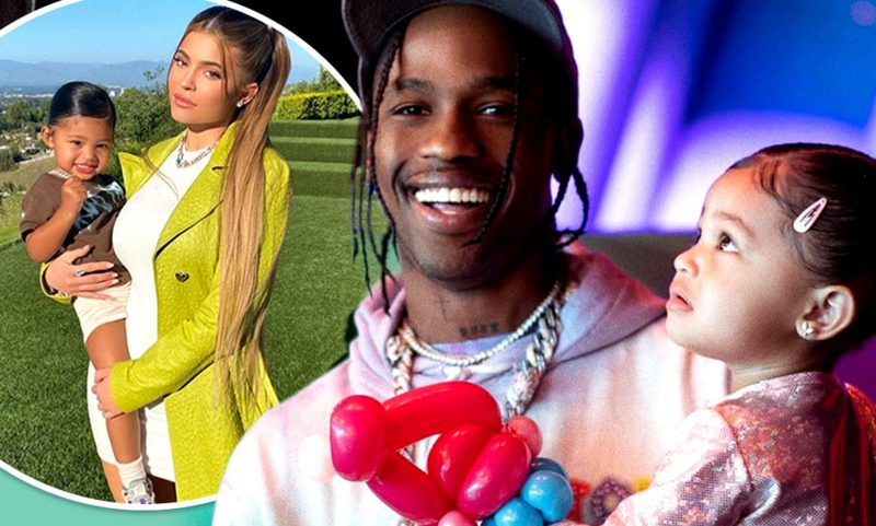 Kylie Jenner and Travis Scott family