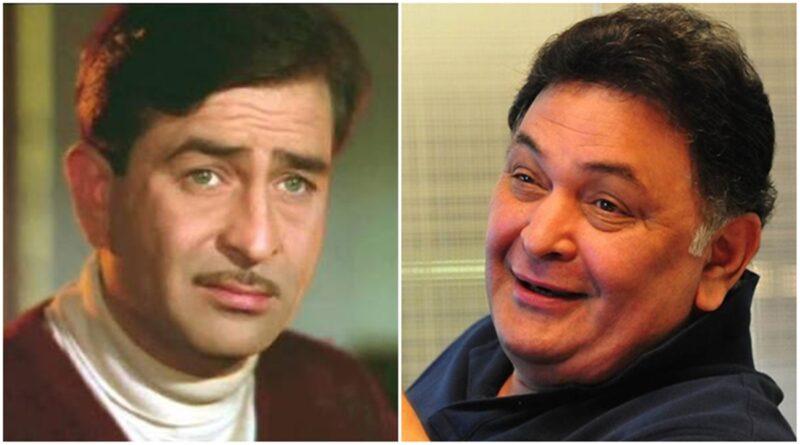 Rishi Kapoor-Raj Kapoor