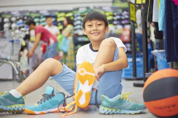 Buying Shoes For Kids