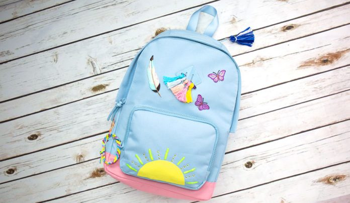 Decorate a Backpack