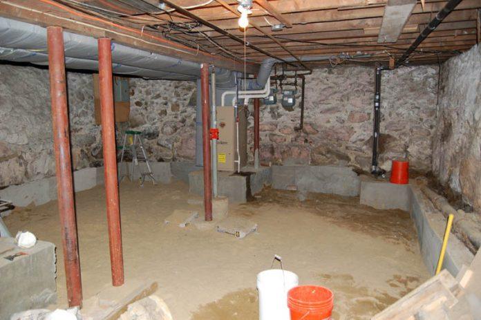 basement underpinning in Canada