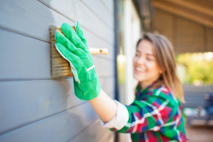 Home Exterior Clean in the Winter