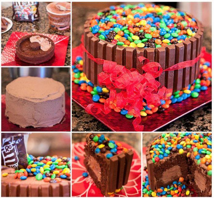 Kit-Kat ice cream cake recipe A taste that all tummies love