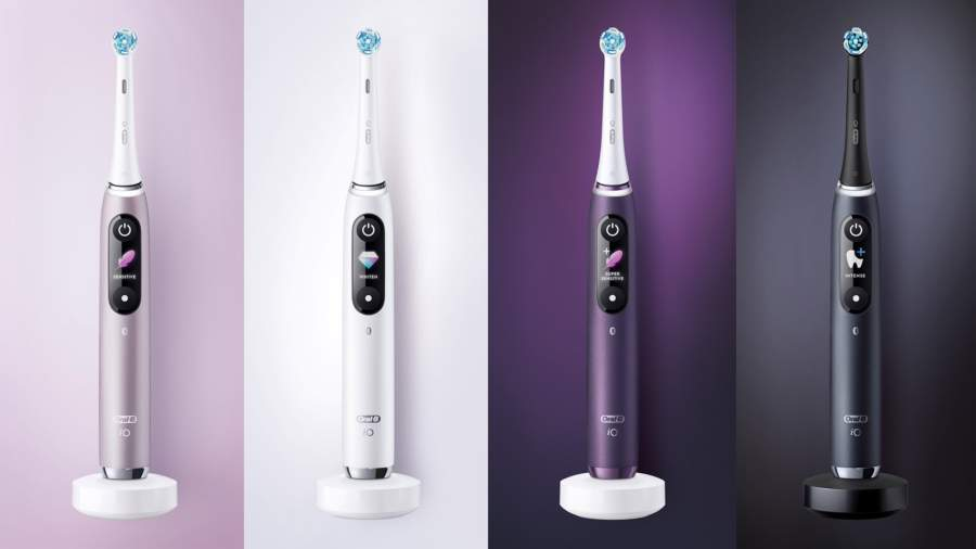 Oral B IO toothbrush