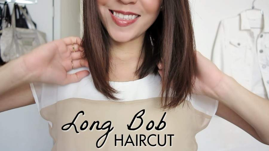 Angled Lob Cut for Girls