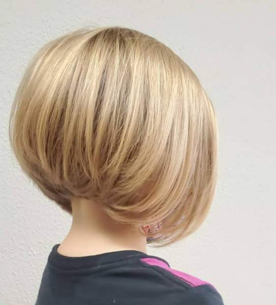 Chic Bob Haircut for little girls