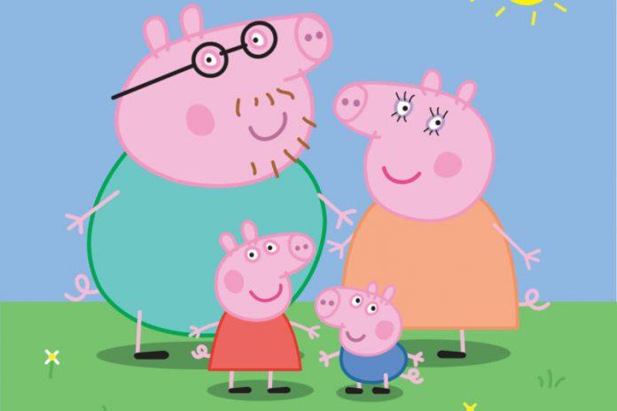 How does Peppa Pig die in the alternative backstory?