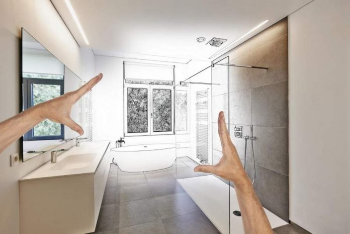 Modern Bathroom Remodel Lighting Tips