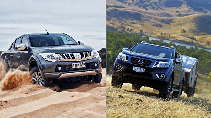Mitsubishi Triton vs Nissan Navara