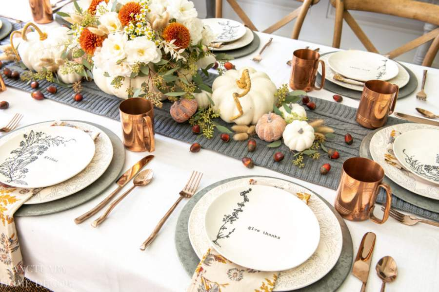 Arranging The Table
