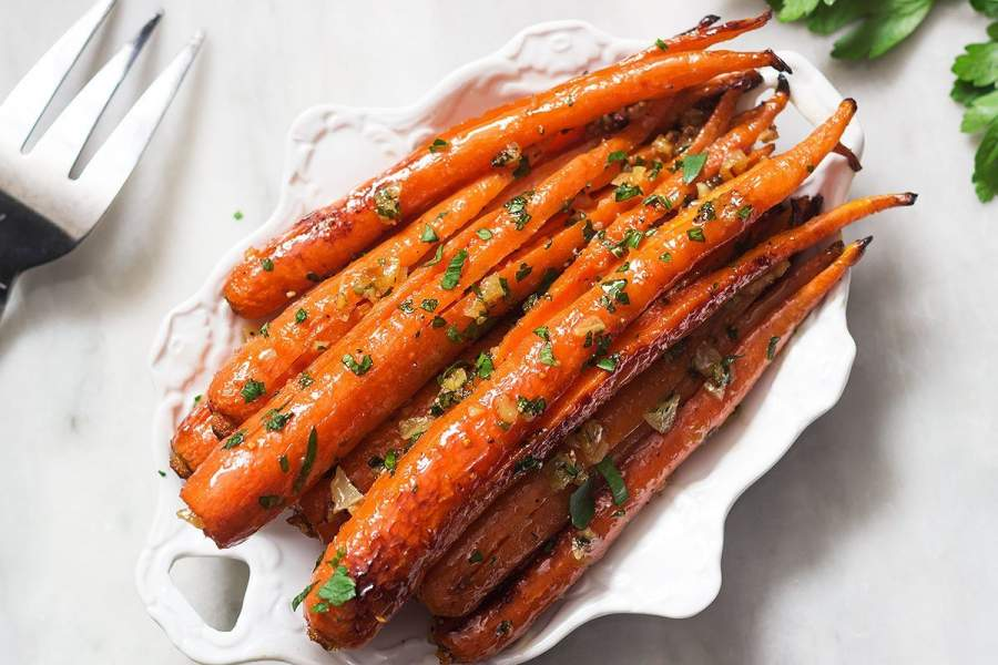 Butter Roasted Carrots