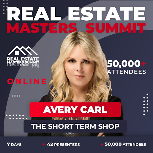 Avery Carl will speak at the Real Estate Masters Summit