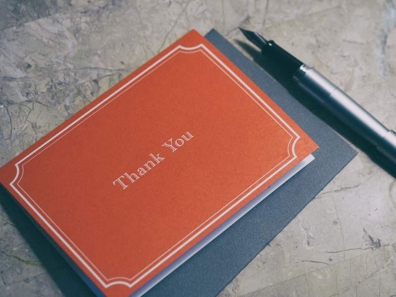 Send Thank You Cards