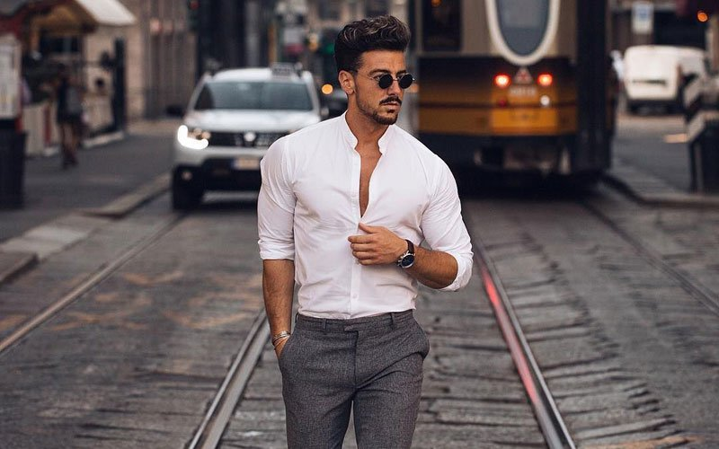 A set of beautiful formal shirt and pant