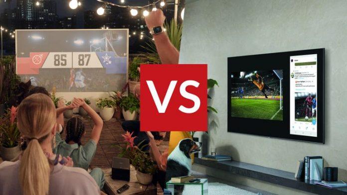 Choosing Between TV and Projector