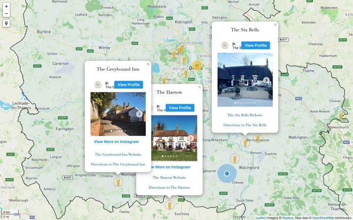 interactive maps online