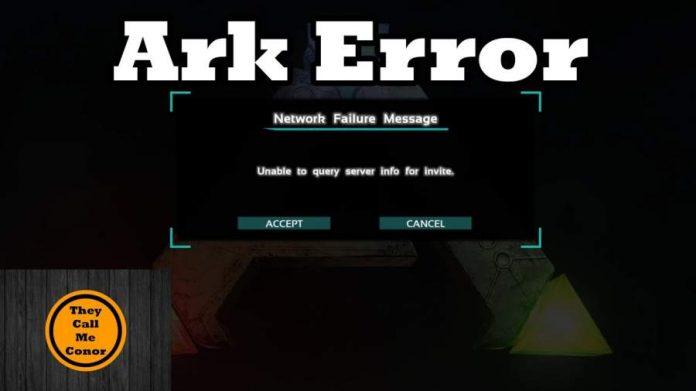 ARK Server Errors