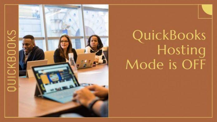 Enable Hosting Mode for QuickBooks