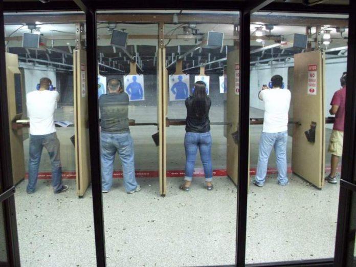indoor shooting range cleaning