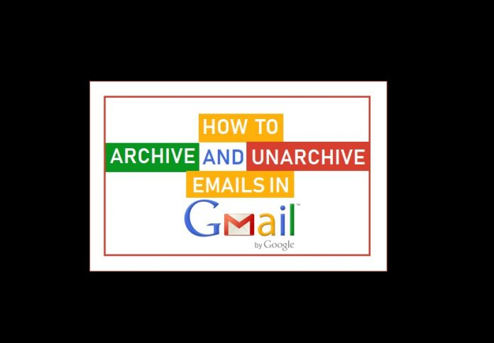 Archive and Unarchive Emails