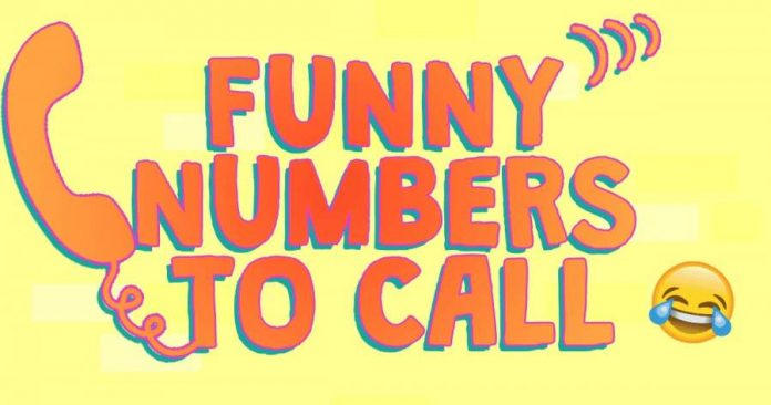 Funny Numbers to Call